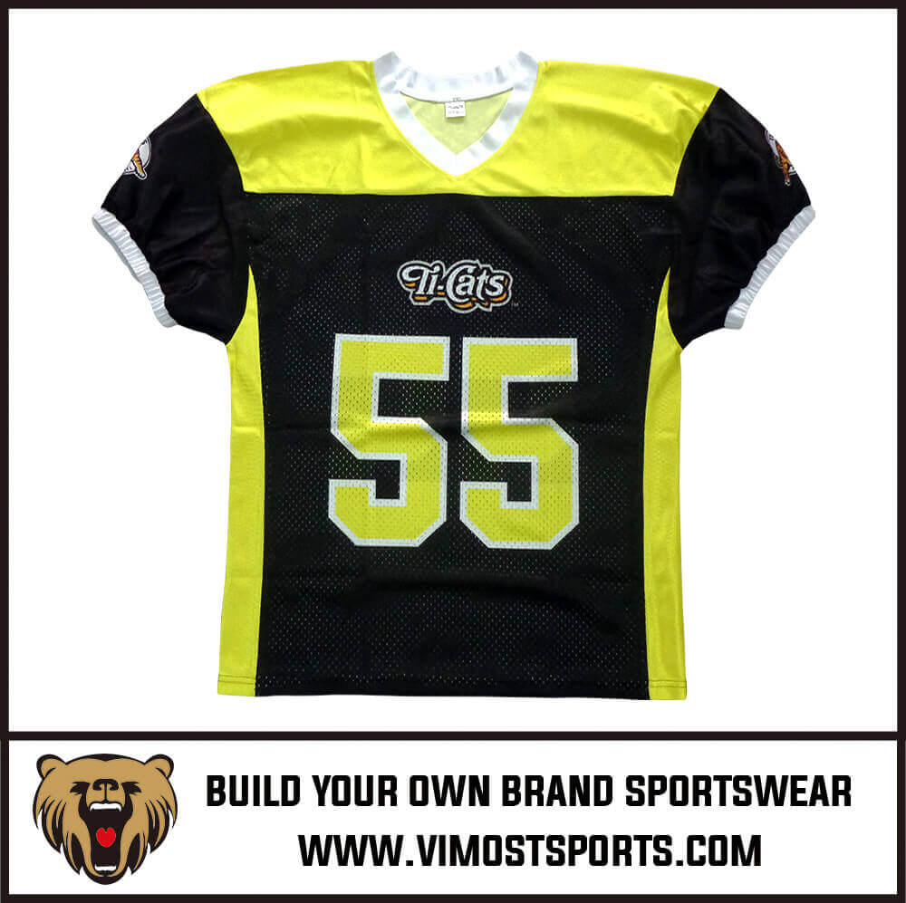 build your own football jersey