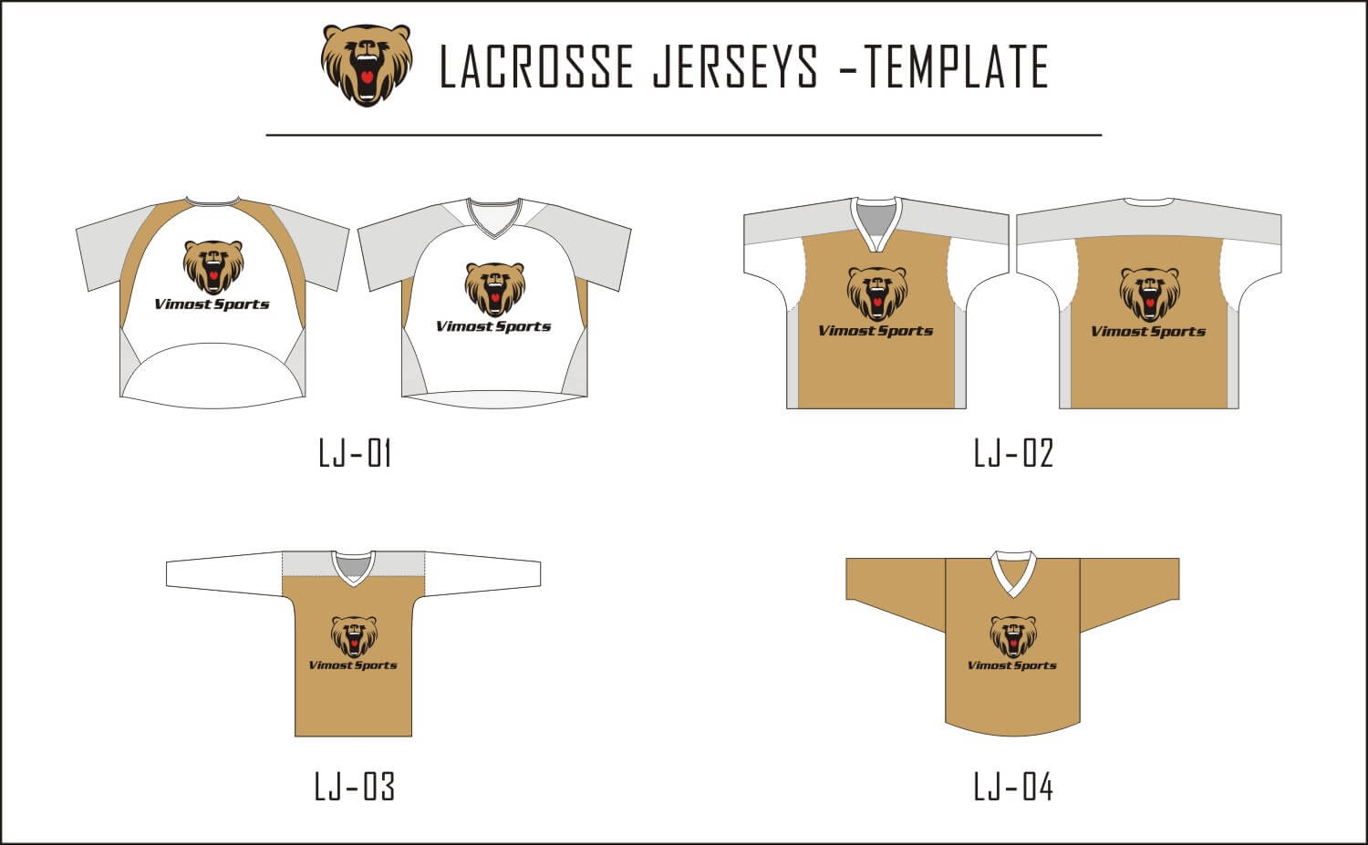 Lacrosse Jerseys-template