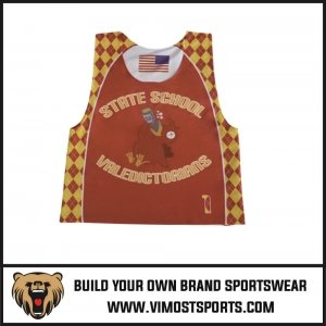 Lacrosse reversible pinnies
