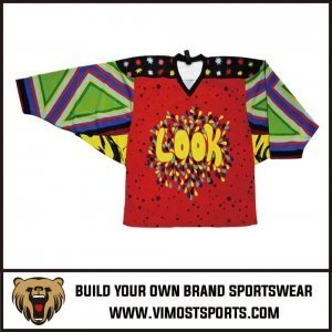 ice goalie hockey jersey